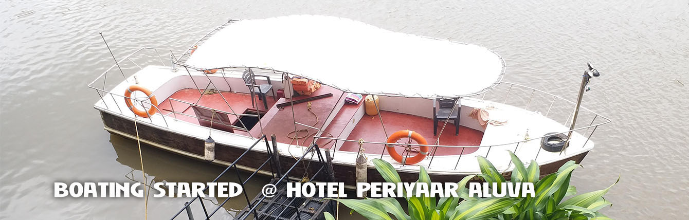 boating @ Hotel periyaar Ltd Aluva
